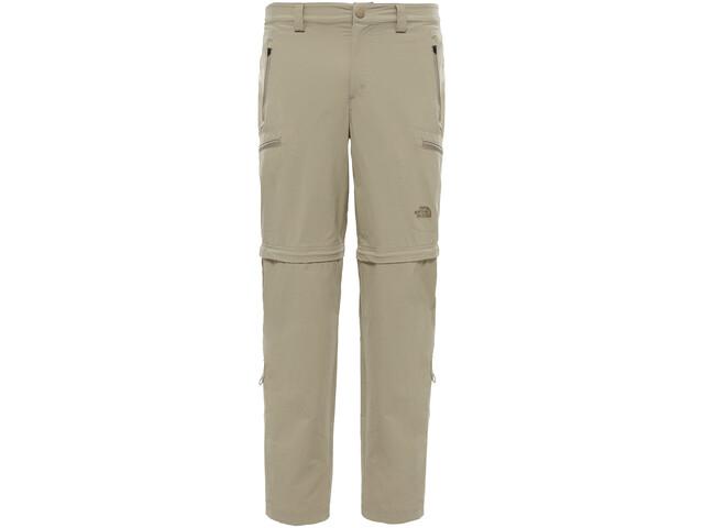 The North Face Exploration Spodnie z odpinanymi nogawkami long Mężczyźni, dune beige